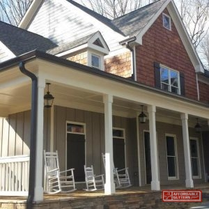 High Quality Gutters Along Home
