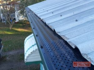 Eave N Flow Leaf Guard Gutter