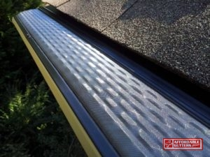 Mesh Leaf Guard Gutter