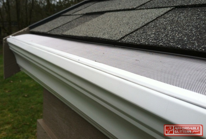 Leaf Guard Gutters In Canton And Roswell Ga Installation